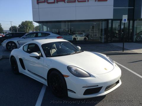 2018 Porsche 718 Cayman for sale in Lancaster, PA
