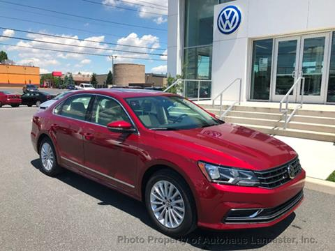 2017 Volkswagen Passat for sale in Lancaster, PA