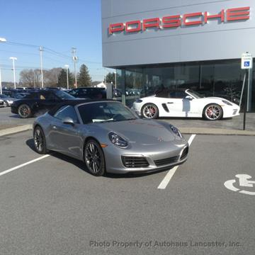 2018 Porsche 911 for sale in Lancaster, PA
