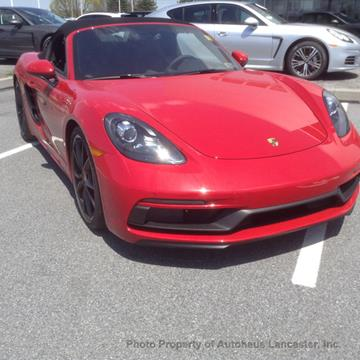 2018 Porsche 718 Boxster for sale in Lancaster, PA