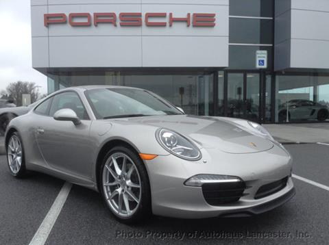 2013 Porsche 911 for sale in Lancaster, PA