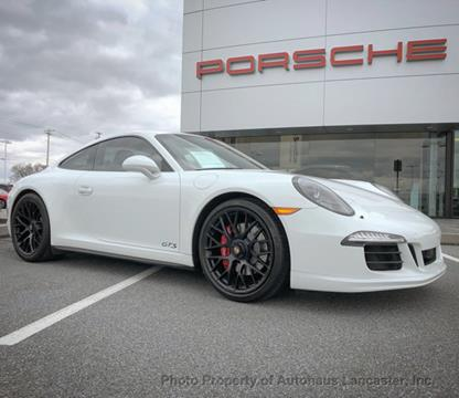 2015 Porsche 911 for sale in Lancaster, PA