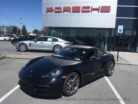 2019 Porsche 718 Cayman for sale in Lancaster, PA