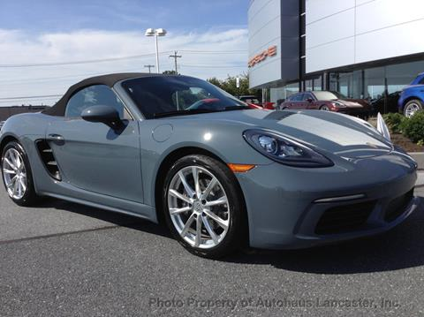 Used Car Dealerships In Lancaster Pa >> 2017 Porsche 718 Boxster For Sale In Lancaster Pa