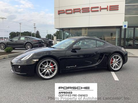 2014 Porsche Cayman for sale in Lancaster, PA