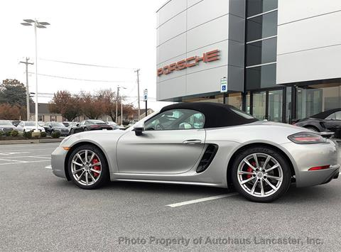 2017 Porsche 718 Boxster for sale in Lancaster, PA