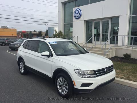 2018 Volkswagen Tiguan for sale in Lancaster, PA