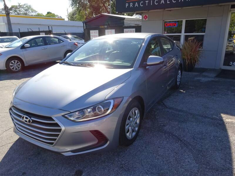 2017 Hyundai Elantra for sale at DeWitt Motor Sales in Sarasota FL