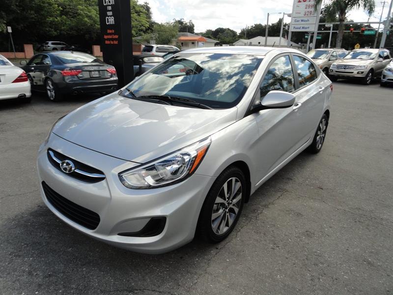 2017 Hyundai Accent for sale at DeWitt Motor Sales in Sarasota FL