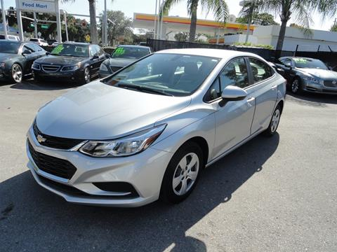2018 Chevrolet Cruze for sale at DeWitt Motor Sales in Sarasota FL