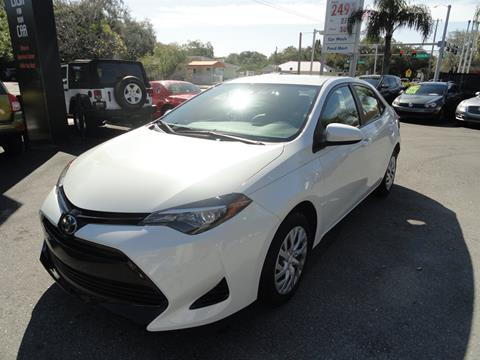 2018 Toyota Corolla for sale at DeWitt Motor Sales in Sarasota FL