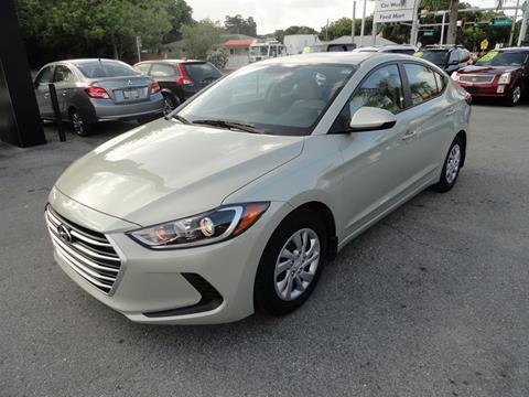 2017 Hyundai Elantra for sale at DeWitt Motor Sales in Sarasota FL