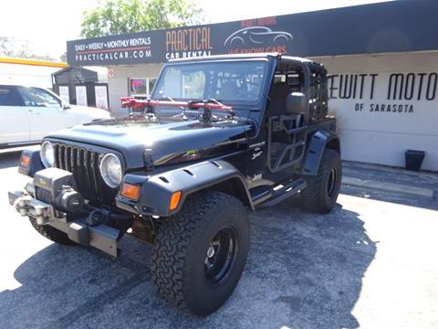 1999 Jeep Wrangler for sale in Sarasota, FL