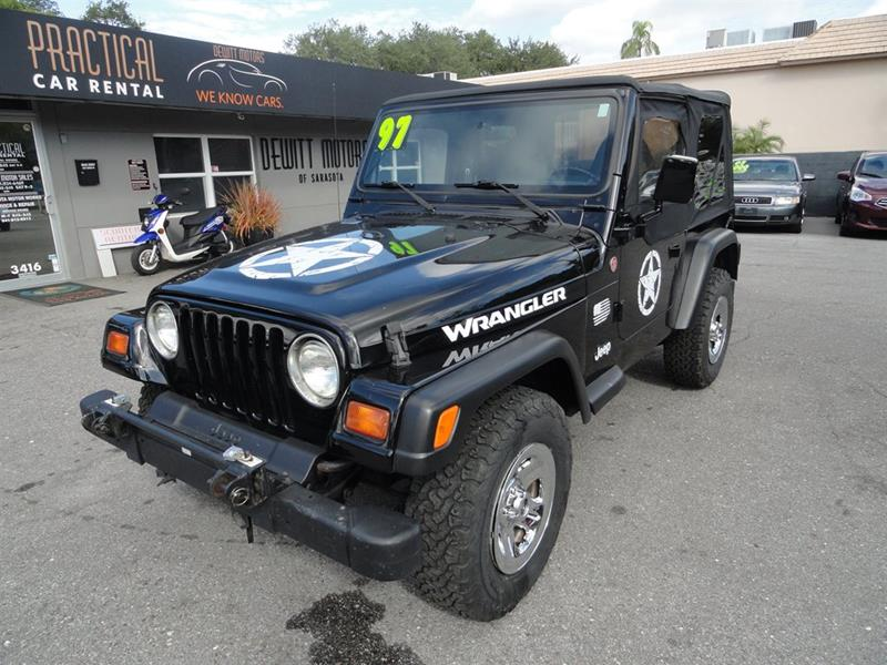 1997 Jeep Wrangler for sale at DeWitt Motor Sales in Sarasota FL