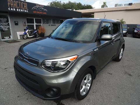 2018 Kia Soul for sale at DeWitt Motor Sales in Sarasota FL