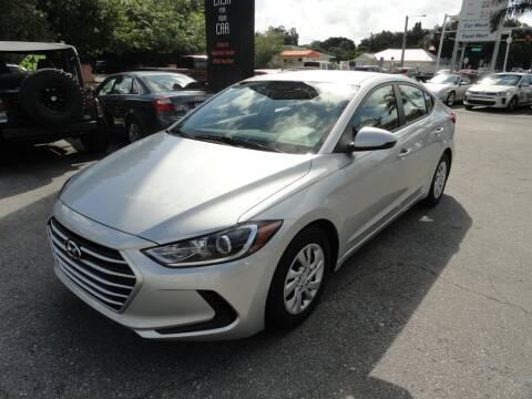 2018 Hyundai Elantra for sale at DeWitt Motor Sales in Sarasota FL