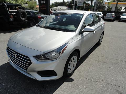 2019 Hyundai Accent for sale at DeWitt Motor Sales in Sarasota FL