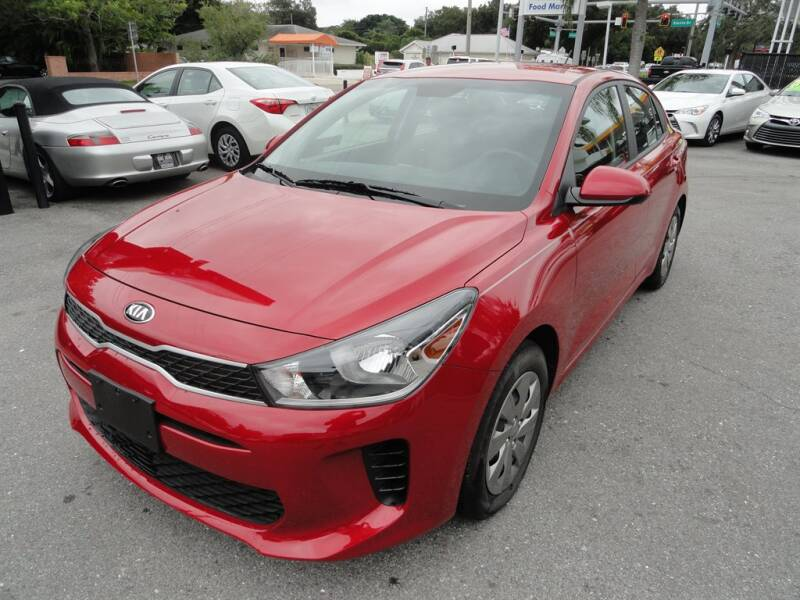 2019 Kia Rio for sale at DeWitt Motor Sales in Sarasota FL