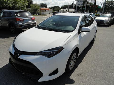 2019 Toyota Corolla for sale at DeWitt Motor Sales in Sarasota FL