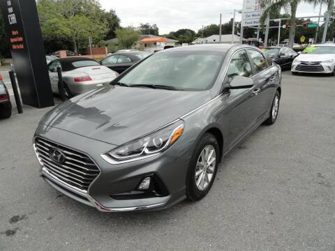 2019 Hyundai Sonata for sale at DeWitt Motor Sales in Sarasota FL
