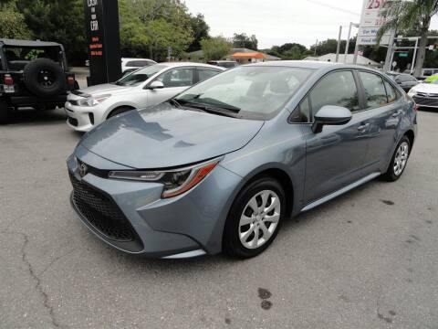 2020 Toyota Corolla for sale at DeWitt Motor Sales in Sarasota FL