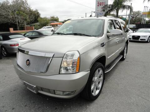 2007 Cadillac Escalade ESV for sale at DeWitt Motor Sales in Sarasota FL