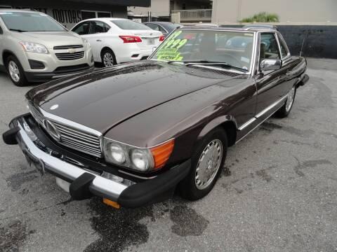 1989 Mercedes-Benz 560-Class for sale at DeWitt Motor Sales in Sarasota FL