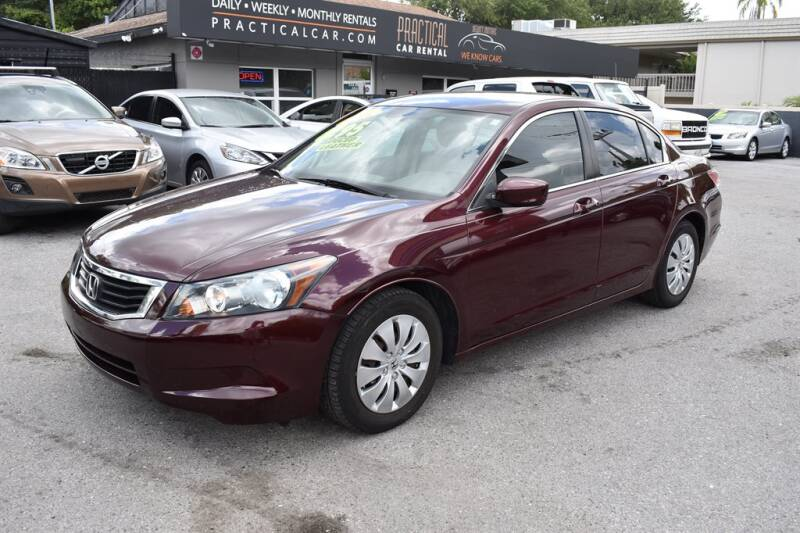 2009 Honda Accord for sale at DeWitt Motor Sales in Sarasota FL