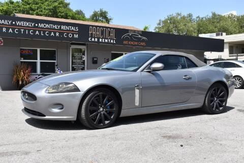 2008 Jaguar XK-Series for sale at DeWitt Motor Sales in Sarasota FL