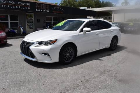 2018 Lexus ES 350 for sale at DeWitt Motor Sales in Sarasota FL