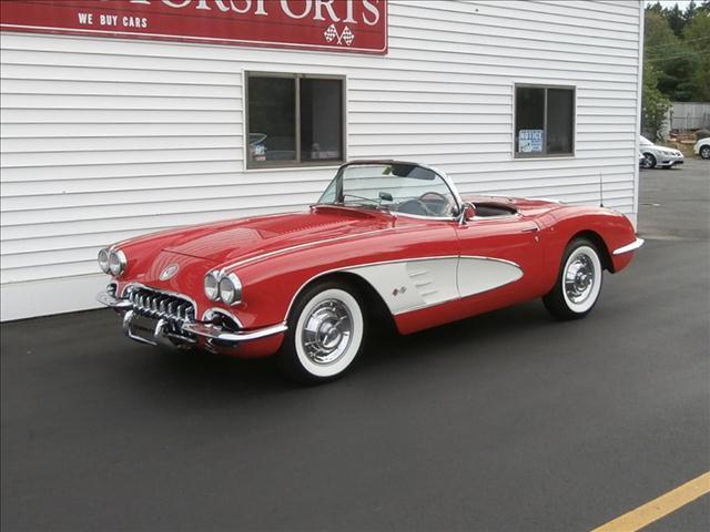 1958 SOLD   Chevrolet Corvette for sale at Classic Motor Sports in Merrimack NH