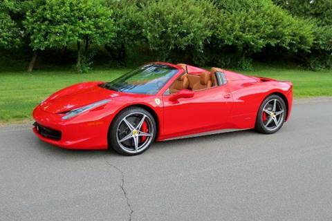 2012 Ferrari 458 Spider for sale at Classic Motor Sports in Merrimack NH