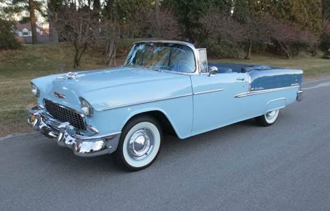 1955 Chevrolet Bel Air for sale at Classic Motor Sports in Merrimack NH