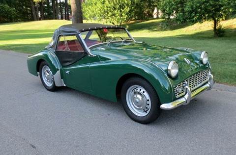 1961 Triumph TR3A for sale at Classic Motor Sports in Merrimack NH