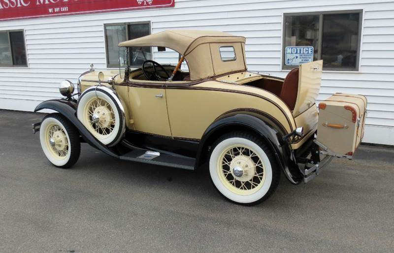 1931 Ford Model A for sale at Classic Motor Sports in Merrimack NH