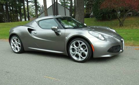 2016 Alfa Romeo 4C for sale in Merrimack, NH