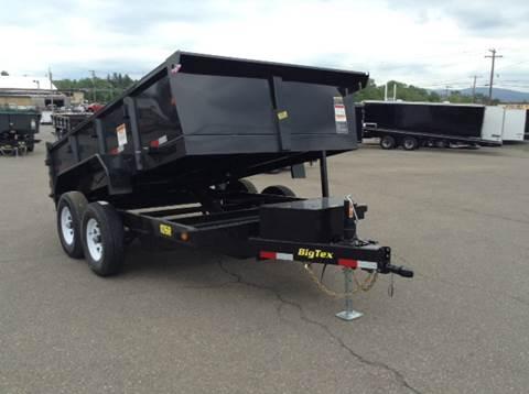 2017 Big Tex 7X12 10K DUMP TRAILER