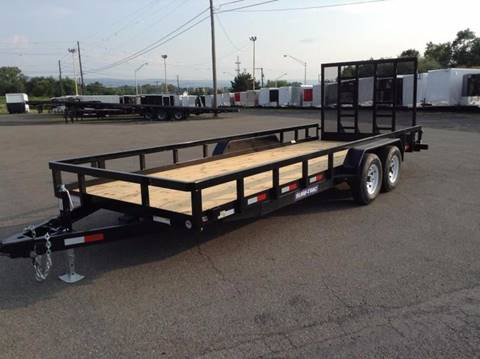 2018 Sure-Trac 20' 10K LANDSCAPE TRAILER