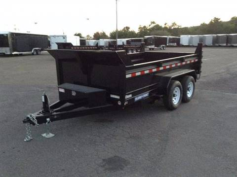 2018 Sure-Trac 6X12 10K - RAMPS DUMP TRAILER for sale in Taylor, PA