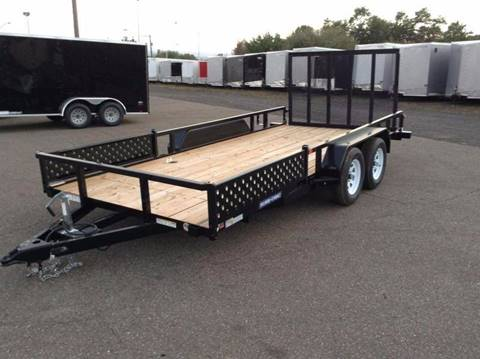 2018 Sure-Trac 7X16 7K ATV TRAILER