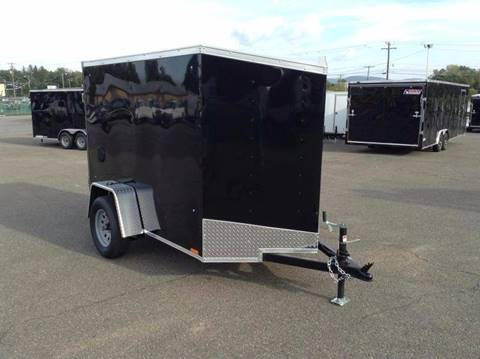 2018 Look Trailers OB 5X8 RAMP DOOR