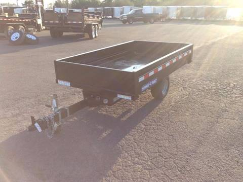 2018 Sure-Trac 4.5X8 DUMP TRAILER for sale in Taylor, PA