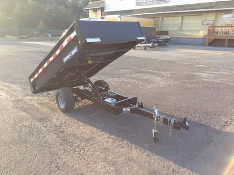 2018 Sure-Trac 4.5X8 HOMEOWNER DUMP TRAILER for sale in Taylor, PA