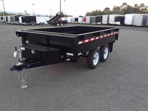 2018 Sure-Trac 6X10 7K DECKOVER DUMP for sale in Taylor, PA