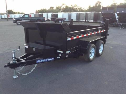 2018 Sure-Trac 6X10 7K DUMP TRAILER