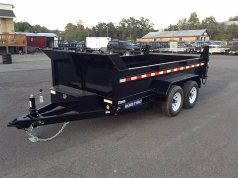 2018 Sure-Trac 6X12 10K DUMP TRAILER for sale in Taylor, PA