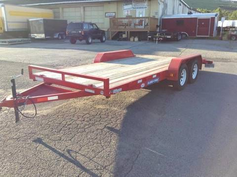2014 Sure-Trac USED 7X18 7K CAR HAULER for sale in Taylor, PA