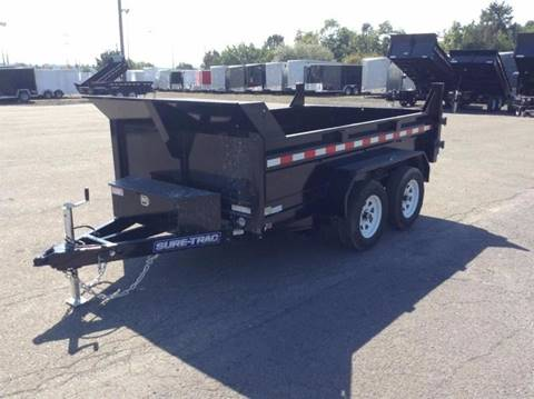 2018 Sure-Trac 6X10 7K DUMP TRAILER for sale in Taylor, PA