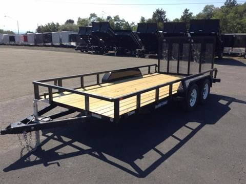 2018 Sure-Trac 7X16 7K UTILITY TRAILER for sale in Taylor, PA