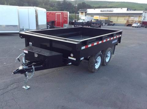 2018 Sure-Trac 6X10 10K DECKOVER DUMP  for sale in Taylor, PA